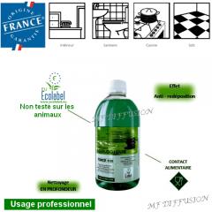 Nettoyant écologique multi-usages Force 100 MF DIFFUSION