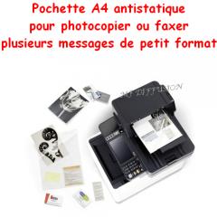 Pochette transparente A4 Facil Fax MF DIFFUSION