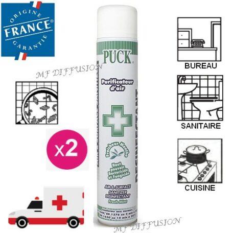 Purificateur assainisseur désinfectant d'air et surface PUCK MF DIFFUSION