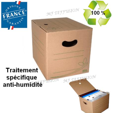 Boite carton d'archive BOX 26 MF DIFFUSION
