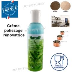 Crème polissage NATUR'M MF DIFFUSION