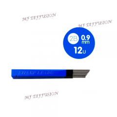 Tube de 15 mines 0.9 mm MF DIFFUSION