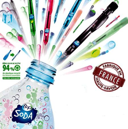 afecebbb9d8 Stylo publicitaire écologique Soda - MFDIFFUSION