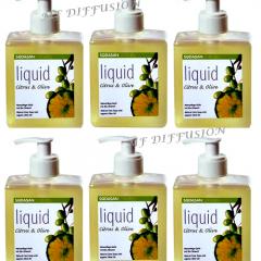 Carton de 6 savons mains Citrus Olive