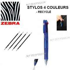 Stylo 4 couleurs MF DIFFUSION