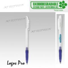 Stylo publicitaire oxobiodégradable Logo Pro