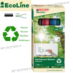 Kit marqueurs Ecoline 29 assortis MF DIFFUSION