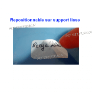 Étiquettes Recyc'label MF DIFFUSION