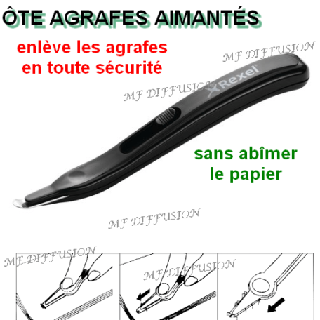 Ôte agrafes stylo MF DIFFUSION