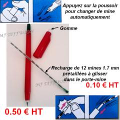 Porte-mines 1.7 mm + recharge MF DIFFUSION