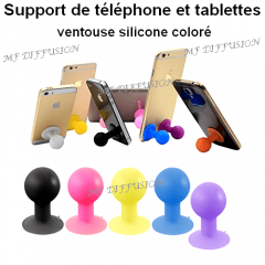 Support ventouse silicone MF DIFFUSION