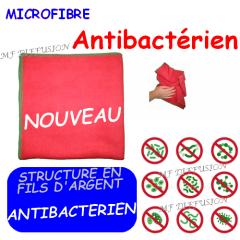 Microfibre aux fils d'argent antibactérien MF DIFFUSION