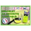 Bracelet de Sécurité ajustable MF DIFFUSION
