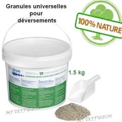 Granules absorbantes universelles Gros grains exemple MF DIFFUSION