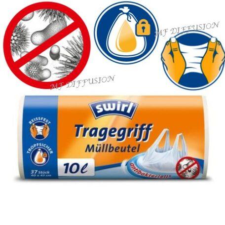 Sacs poubelle antibactérien MF DIFFUSION