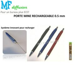 Porte mine rechargeable 0.5 mm MF DIFFUSION